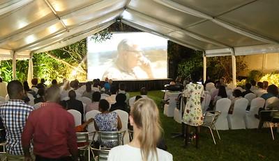 Rudolf Geigy's film premieres in Dar