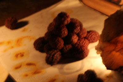 night Rudraksha figures