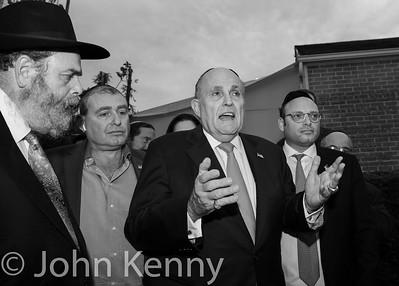 Farley/Giuliani at Ohel 11/1/18