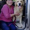 "Judy Slayton Bachofner, Ruger's ""mom,"" who bred him in Washougal, WA"