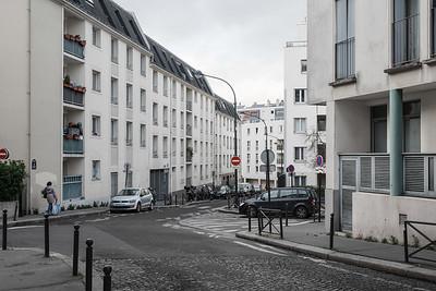 Rue des Partants, 20th Arrondissement