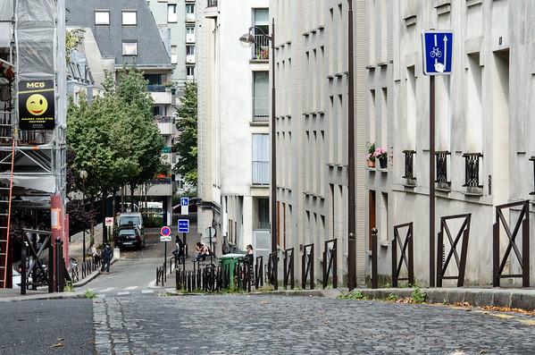 Rue des Mûriers, 20th Arrondissement