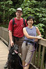 "USED (THIS WAS OUR ""pet in the picture but not as the main subject"" PICTURE)- Activity - Kevin and I-Chwen hiking (with Rufus)."