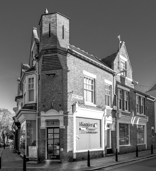 Corner of Henry Street and Regent Street, Rugby