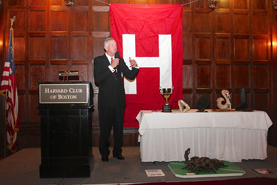 2013_10-05 Rugby HBS 50 Sat Din Harvard Club II - Mike Rush (HBSOB President) aka Bill Reilly Speech 9943