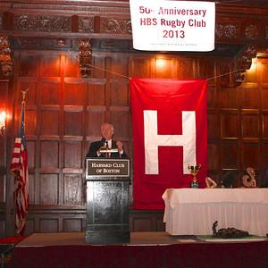 2013_10-05 Rugby HBS 50 Sat Din Harvard Club II - Nigel Melville (CEO USA Rugby) 9934