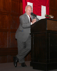 2013_10-05 Rugby HBS 50 Sat Din Harvard Club II - Jimmy Johnston (Founder) at the Podium 9924