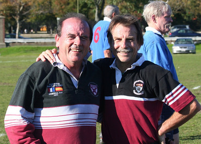 Rugby - Harvard Business School Old Boys - PreGame on  10-11-08