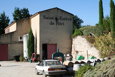 Allen and Alex Wilson own the Saint Esteve de Neri vineyard.  They invited a crew to pick grapes in the morning and join them for lunch.