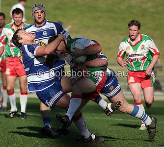 Action from the Illawarra Carlton Rugby League First Grade Qualifying Final between Thirroul and Corrimal at WIN Stadium on Sunday the 16th August 2009. The match was won by Thirroul 46-8 - PHOTO - ROB SHEELEY/WWW.ROBSHOTS.COM.AU