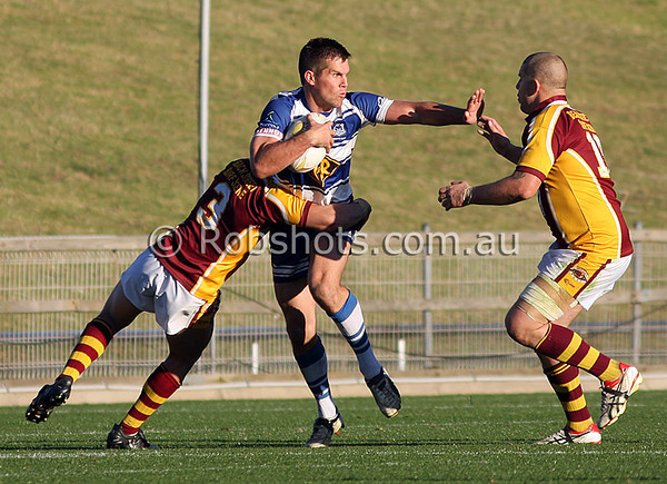 "Action from the Illawarra Carlton Rugby League Final between Thirroul and Shellharbour at WIN Stadium on Sunday the 30th August 2009. The match was won by Thirroul 54-10. Photo - Rob Sheeley -  <a href=""http://www.robshots.com.au"">http://www.robshots.com.au</a>"