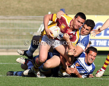 Action from the Illawarra Carlton Rugby League Final between Thirroul and Shellharbour at WIN Stadium on Sunday the 30th August 2009. The match was won by Thirroul 54-10. Photo - Rob Sheeley - www.robshots.com.au