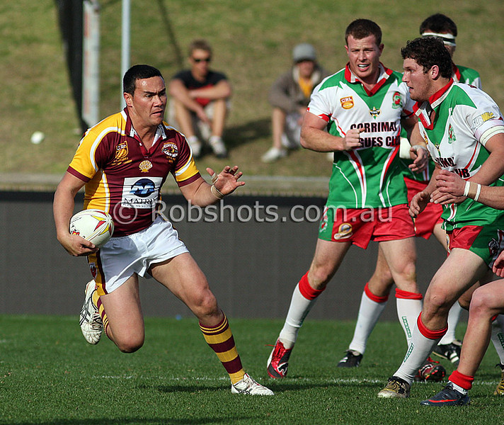"Action from the Illawarra Carlton Rugby League Final between Shellharbour and Corrimal at WIN Stadium on Saturday the 22ndAugust 2009. The match was won by Shellharbour 33-24. Photo - Rob Sheeley -  <a href=""http://www.robshots.com.au"">http://www.robshots.com.au</a>"