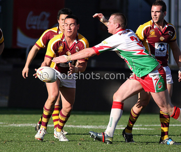"""Action from the Illawarra Carlton Rugby League Final between Shellharbour and Corrimal at WIN Stadium on Saturday the 22ndAugust 2009. The match was won by Shellharbour 33-24. Photo - Rob Sheeley -  <a href=""""http://www.robshots.com.au"""">http://www.robshots.com.au</a>"""