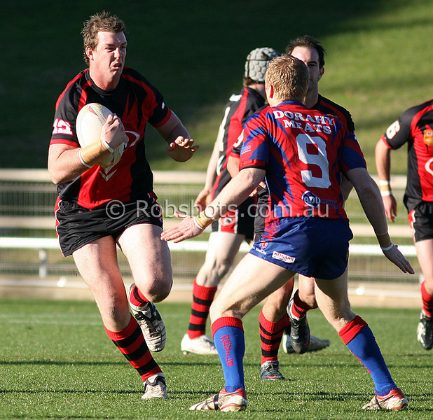 Collegians Vs Wests July 5th - 07