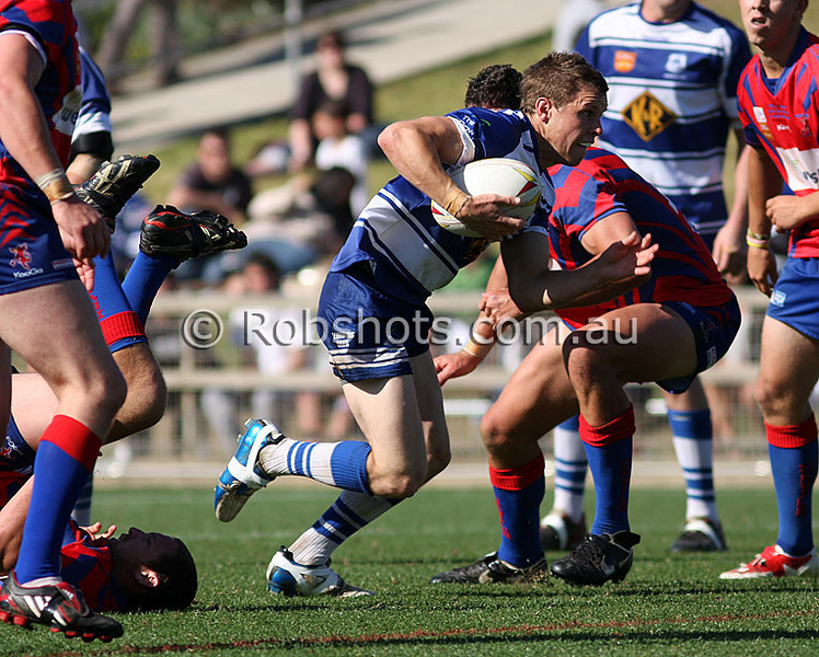 "Images from the Carlton Illawarra Rugby League  Reserve Grade Grand Final between Wests and Thirroul at WIN Stadium on Sunday September 6th 2009. The match was won by Thirroul 42-12 [Photo: Rob Sheeley -  <a href=""http://www.robshots.com.au"">http://www.robshots.com.au</a>]"