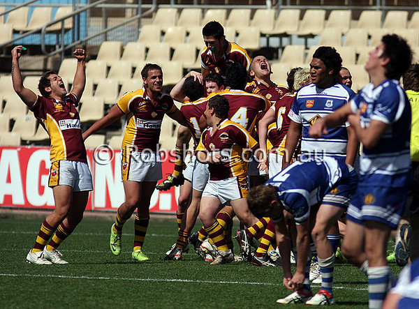 """Images from the Carlton Illawarra Rugby League  Under 18's Grand Final between Shellharbour and Thirroul at WIN Stadium on Sunday September 6th 2009. The match was won by Shellharbour 20-10 [Photo: Rob Sheeley -  <a href=""""http://www.robshots.com.au"""">http://www.robshots.com.au</a>]"""