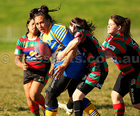 Images from the Illawarra Womens Rugby League match between Dapto & Corrimal, played at Noel Mulligan Oval on Saturday, July 2nd 2011  (PHOTO: Robshots.com.au)