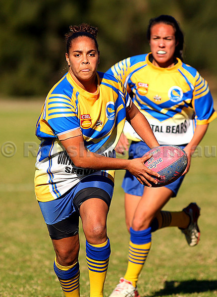 Images from the Ilawarra Womens Rugby League match between Dapto & Minto, played at University Oval on Sunday June 26th 2011  (PHOTO: Robshots.com.au)