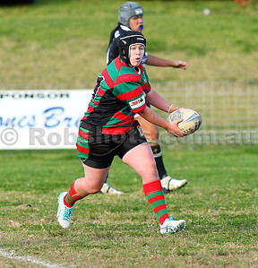 Images from the Ilawarra Womens Rugby League match between Port Kembla & Corrimal, played at Noel Mulligan Oval on Saturday June 26th 2011  (PHOTO: Robshots.com.au)