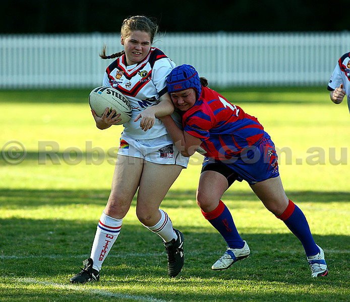 Images from the Ilawarra Womens Rugby League match between the U.O.W Titans & Western Suburbs, played at University Oval on Sunday June 26th 2011  (PHOTO: Robshots.com.au)