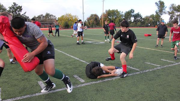 2012_11-17 Rugby PenGrn Rucking Practice Satale, Mullen 11-17-12