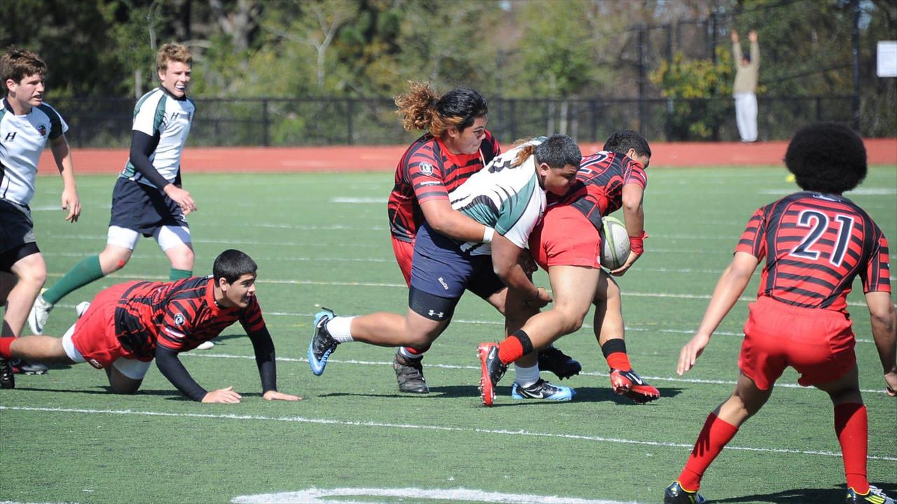2013_02-23 Rugby PenGrn vs EPA Var 25-14 Sam Veimau tackle 02-23-13
