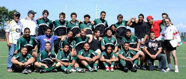Peninsula Green Rugby - 2011 Team picture