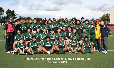 Peninsula Green Rugby Football Club - 2010