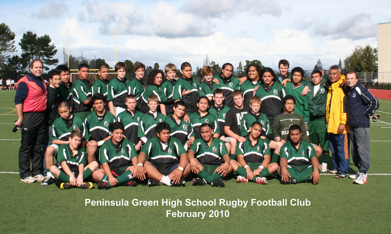 Peninsula Green Rugby Football Club - 2010
