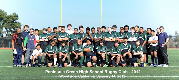 Rugby - Peninsula Green Rugby Club - Team Pictures