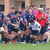 2016-12-30 Rugby USA HSAA Winter Camp - Jacob Cortinas bearing down on Tackle 1