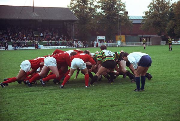 Northampton vs London Welsh, Franklin's Gardens, Autumn 1991