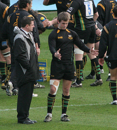 Northampton Saints vs Gloucester, Guinness Premiership, Franklin's Gardens, 3 March 2007