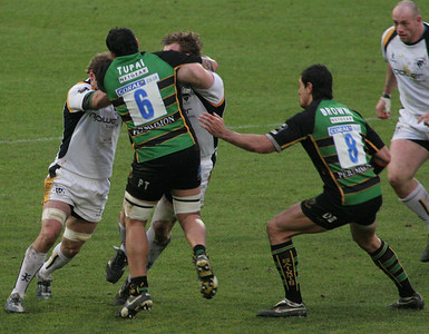 Northampton Saints vs Worcester Warriors, Guinness Premiership, Franklin's Gardens, 1 January 2007