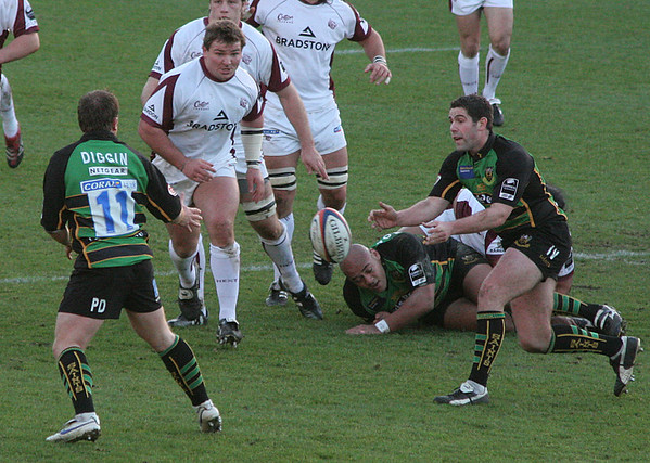 Northampton Saints vs Leicester Tigers, EDF Cup, Franklin's Gardens, 2 December 2006