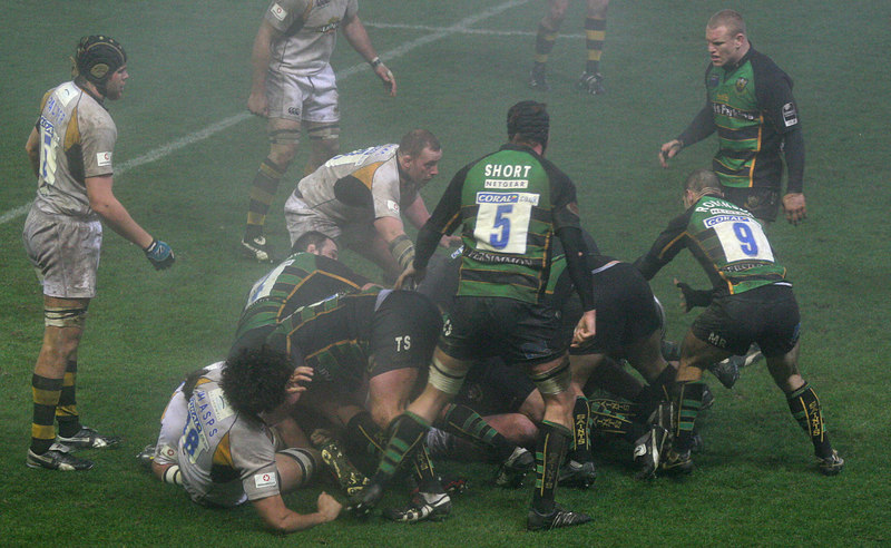 Northampton Saints vs London Wasps, Guinness Premiership, Franklin's Gardens, 22 December 2006