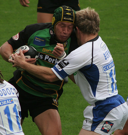 Northampton Saints vs Bath, Guinness Premiership, Franklin's Gardens, 16 September 2006