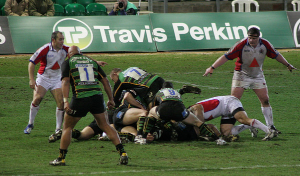 Northampton Saints vs Bristol, Guinness Premiership, Franklin's Gardens, 27 January 2007