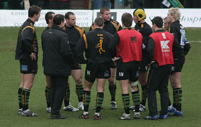 Northampton Saints vs NEC Harlequins, Guinness Premiership, Franklin's Gardens, February 17, 2007