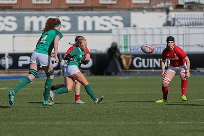 Wales Women v Ireland Women Six Nations 16.03.2019