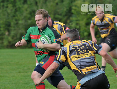 Bingham 2nd XV v Derby Vets 21/09/2013