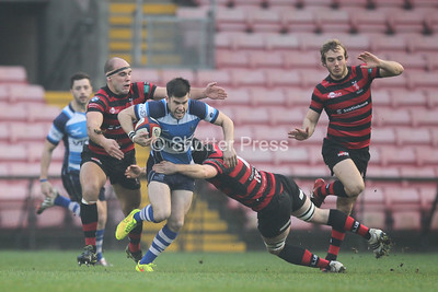 Darlington Mowden Park vs Blackheath - National League 1. 22/11/14