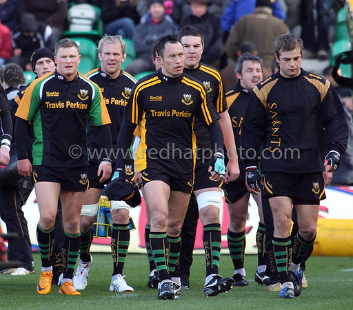Northampton Saints vs Exeter Chiefs, National Division 1, Franklin's Gardens, 22 March 2008