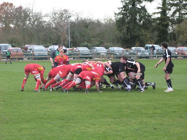 Cambridge vs Launceston, Wests Renault Park, National Division 2, 15 November 2008