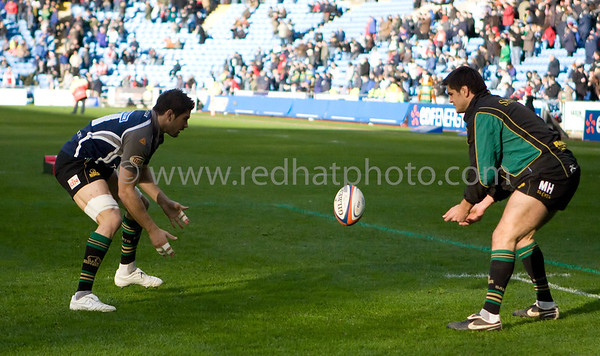 Cardiff Blues vs Northampton Saints, EDF Cup, Ricoh Stadium, 28 March 2009
