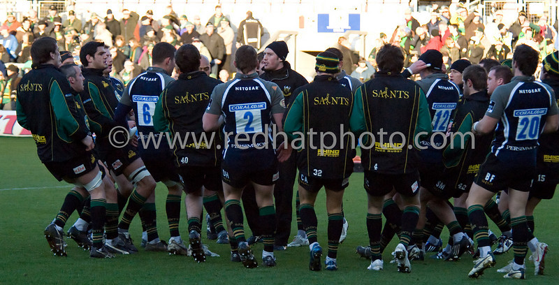 Northampton Saints vs Bristol, European Challenge Cup, Franklin's Gardens, 6 December 2008