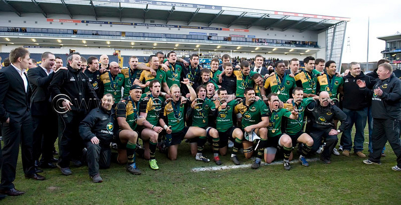 Northampton Saints vs Gloucester, LV= Cup Final, Sixways, 21 March 2010