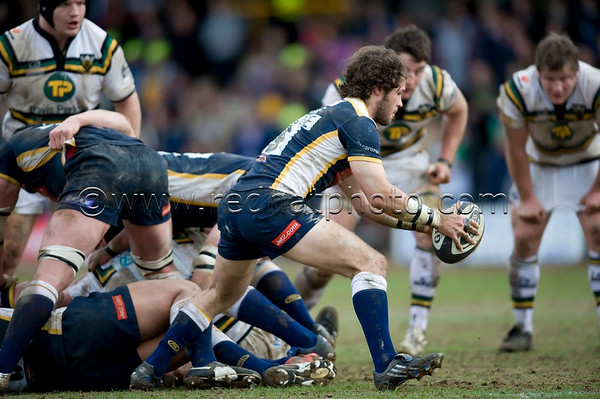Leeds Carnegie vs Northampton Saints, Guinness Premiership, Headingley, 3 April 2010