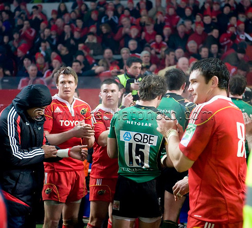 Munster vs Northampton Saints, Heineken Cup, Thomond Park, 22 January 2010